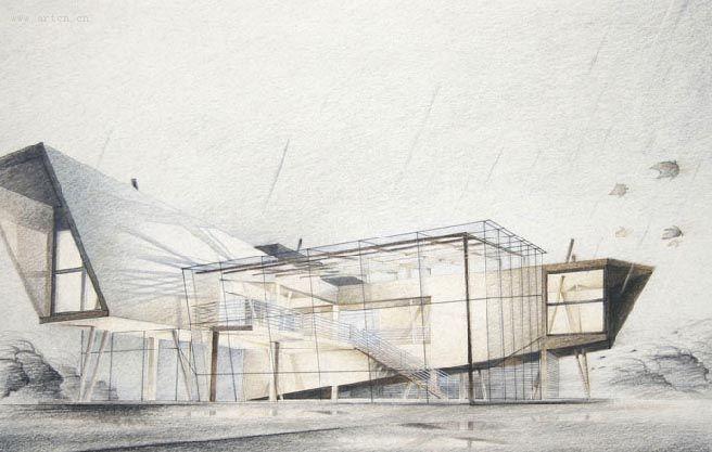 建筑园林设计之手绘效果图系列 3